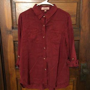 🌟3/$10🌟Chambray Shirt